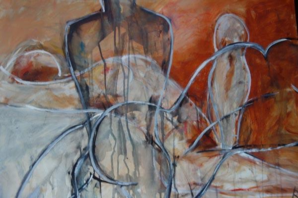 Imaginationen III, Acryl, 60x80cm, 2013