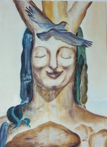 Einssein, Öl/Leinwand, 2006