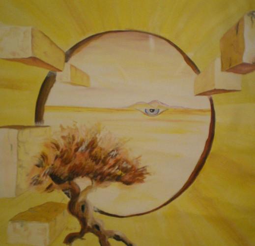 Schöpfung, Acryl/Leinwand, 2009