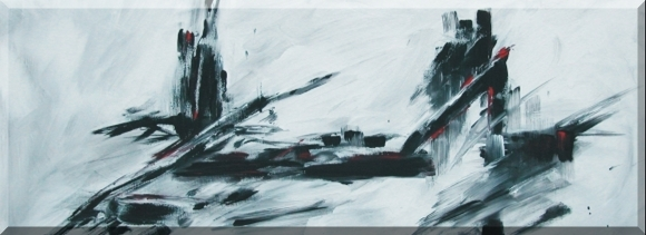 Tower Bridge, Acryl/Leinwand, 100x40cm, 2004