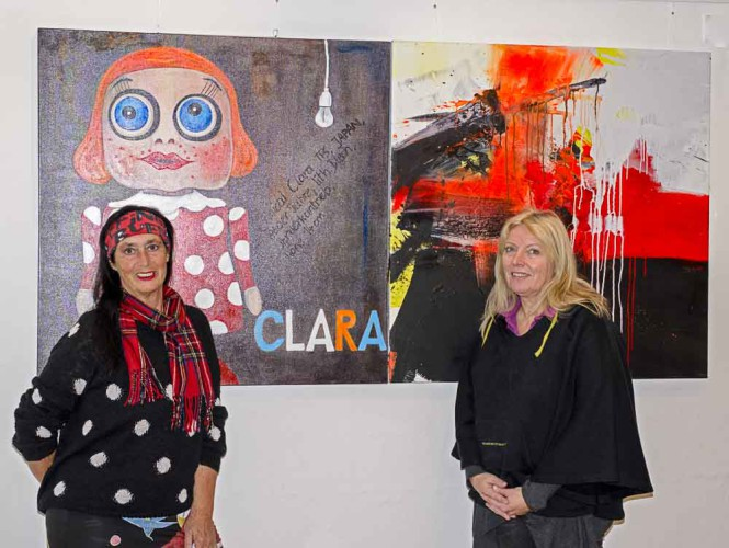 Ingrid Gailer-Stopper und Karin Hujber